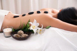 Hot Stone wellness treatment